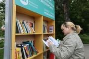 В Екатеринбурге открылись уличные библиотеки