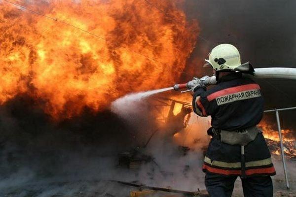 В Новой Москве горит крупнейшая в РФ строительная ярмарка