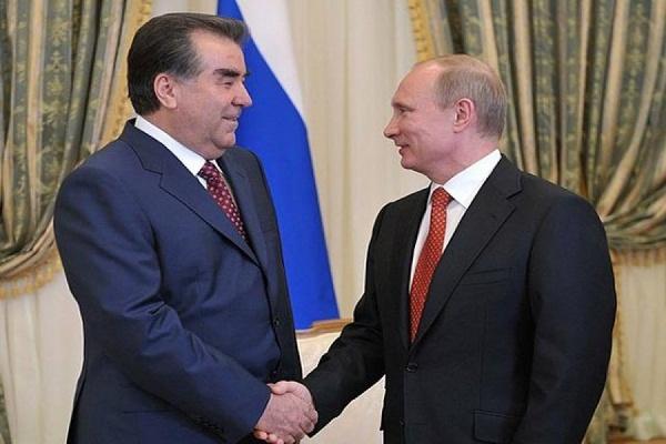 Президент Таджикистана прибыл в Уфу