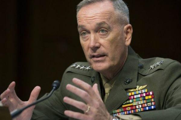 Белый дом назвал заявления генерала Джозефа Данфорда о РФ «его личной позицией»