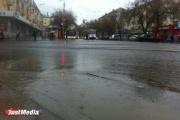 Александр Репин: «Ливневая канализация в порядке. Топит те улицы, где стоки забиты мусором»