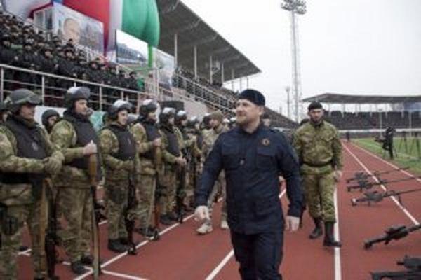 Кадыров провел внезапную проверку готовности чеченских спецподразделений