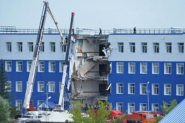 Здание обрушившейся под Омском казармы будет снесено
