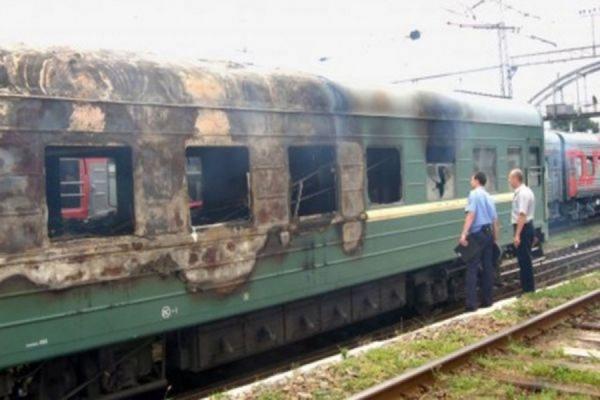 На Дальнем Востоке пассажир поезда сжёг вагон, проверяя качество спирта