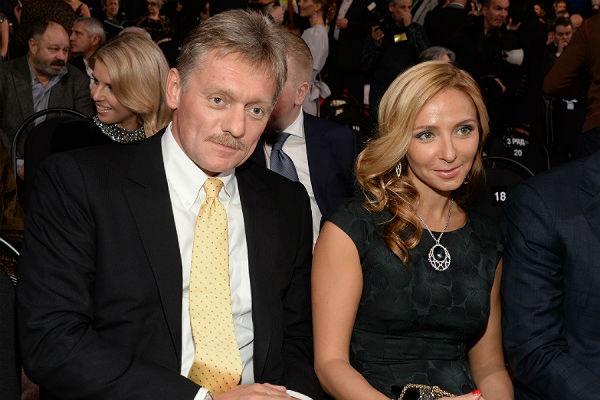 Олимпийская чемпионка Навка выходит замуж за пресс-секретаря президента РФ