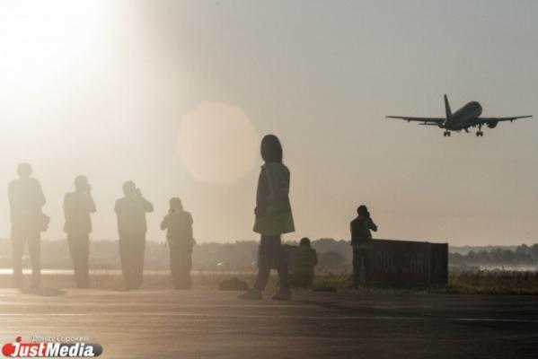 Самолеты из Екатеринбурга в Пермь и Челябинск массово задерживаются с вылетом из-за плохих погодных условий в уральских городах