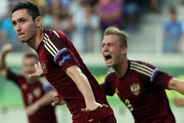 Юношеская сборная России впервые вышла в финал чемпионата Европы по футболу