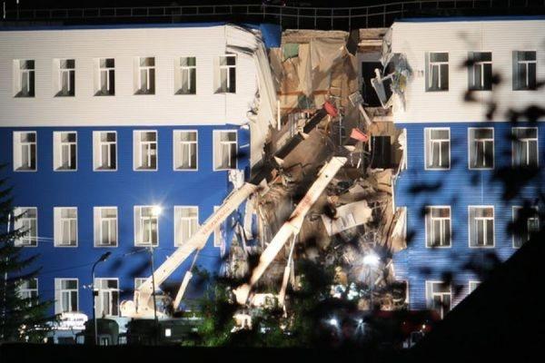 Здание обрушившейся  казармы в омской области ремонтировали без проекта и надзора