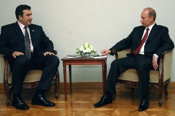Саакашвили заявил, что Путин угрожал его убить