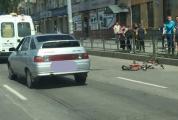 В Екатеринбурге водитель «двенадцатой» сбил тринадцатилетнего велосипедиста, ехавшего на «красный»