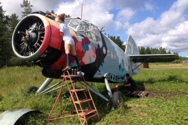 Команда «Свитера» отправила на красочную пенсию устаревший уральский самолет