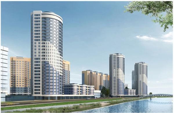 На берегу Исети вырастет пять жилых высоток и появится улица Водоемная