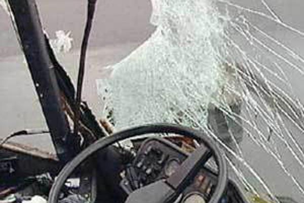 В Красноярском крае попал в ДТП рейсовый автобус
