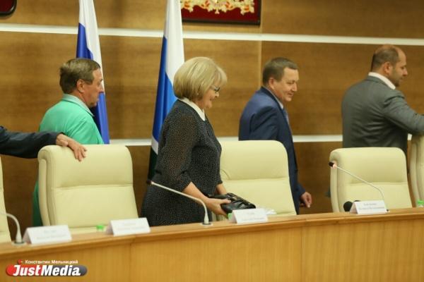 Законопроект об «обезглавливании» Екатеринбурга будет отклонен на первом заседании осенней сессии Заксобрания