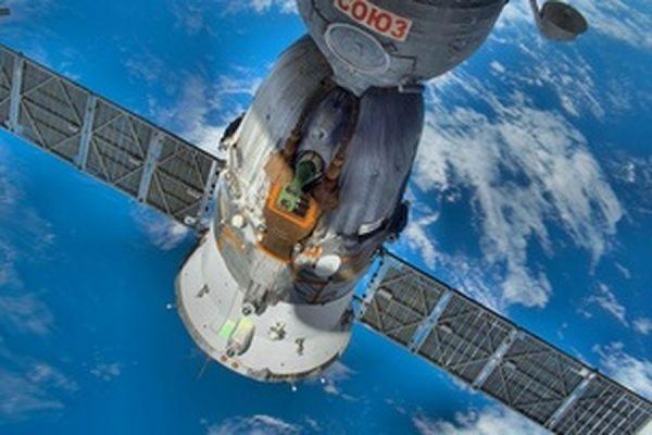 Солнечной батарея на корабле «Союз» раскрылась во время стыковки с МКС