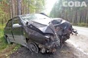 Иномарка слетела с дороги на Чусовском тракте и угодила в дерево