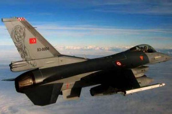 Военно-воздушные силы Турции впервые нанесли удар по объектам ИГ