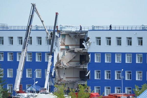 Шойгу назвал причину обрушения учебного центра ВДВ под Омском