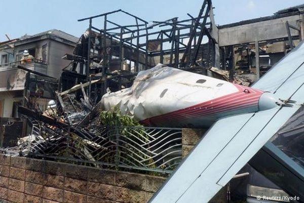 В Японии три человека погибли в результате крушения легкомоторного самолета