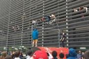 На соревнованиях в Екатеринбурге велосипедист совершил  прыжок высотой 3 метра