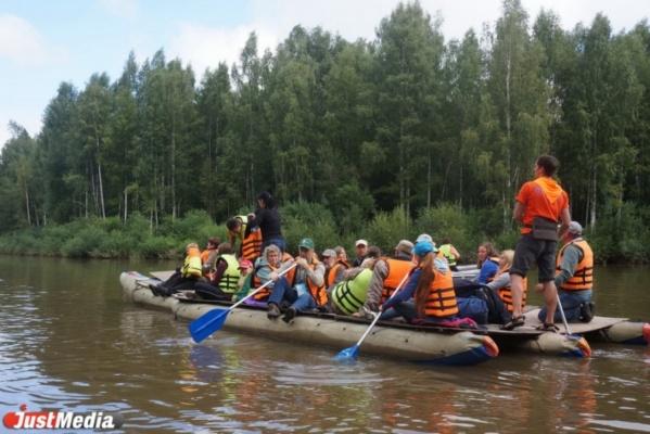 Бизнесмены Свердловской области и соседних субъектов сплавились по Чусовой