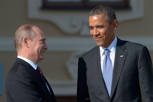 Путин направил Бараку Обаме телеграмму с поздравлением с днем рождения