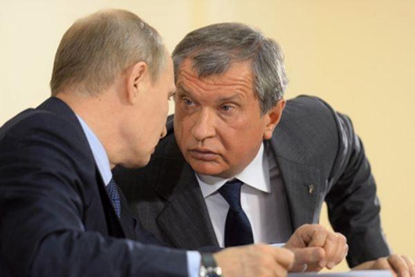 Сечин предупредил Путина о дефиците бензина в России через два года