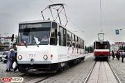 В выходные по улице Челюскинцев не будут ходить трамваи