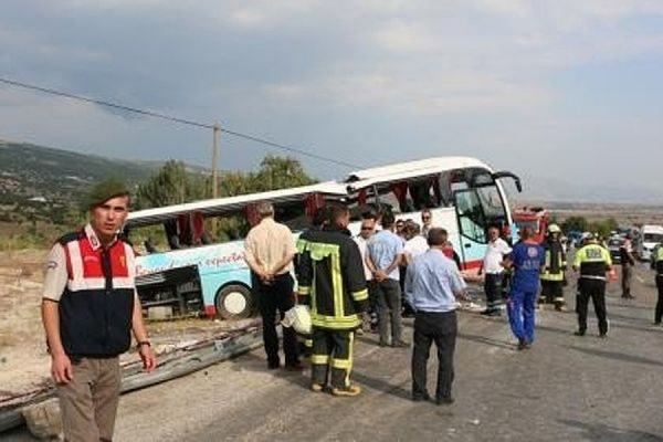 Четверо российских туристов погибли в результате ДТП в Турции
