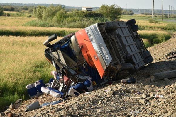 В Хабаровском крае арестован водитель одного из столкнувшихся автобусов