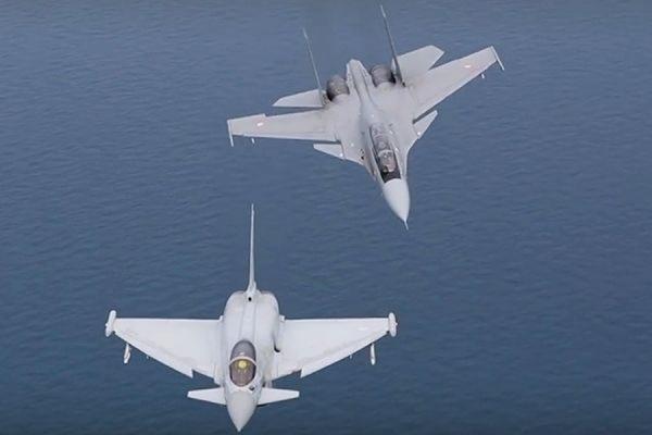 Индийские летчики на Су-30 в ходе учений разгромили британских пилотов на Typhoon