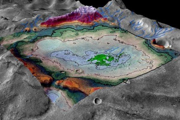 На Марсе обнаружили следы большого древнего озера