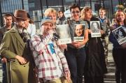 На улице Вайнера прошел «зеленый» музмарафон с арт-объектами из книг