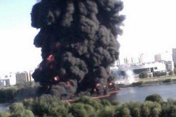 На месте разгерметизации нефтепровода в Марьине завершены работы