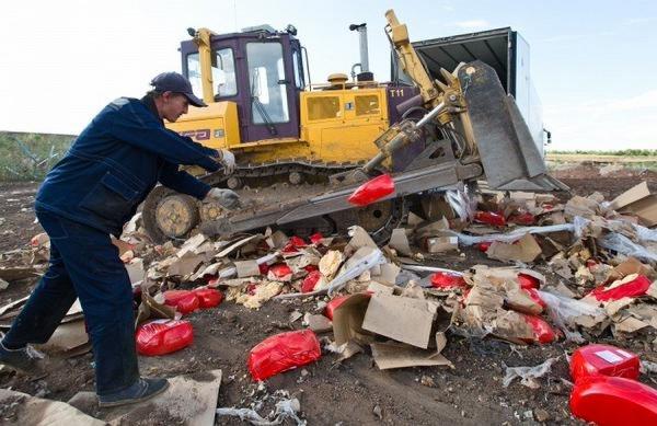 В Госдуму внесён законопроект об отправке санкционных продуктов в Донбасс