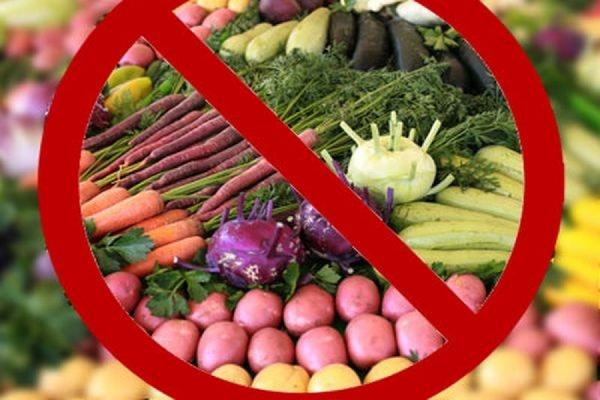 Власти РФ распространили продовольственное эмбарго ещё на 5 стран