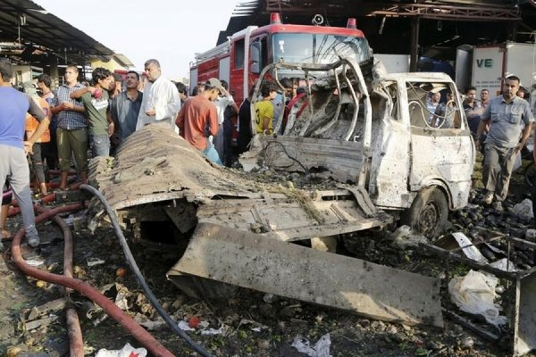 Ответственность за взрыв в Багдаде, в результате которого погибло 76 человек, взяло на себя ИГ