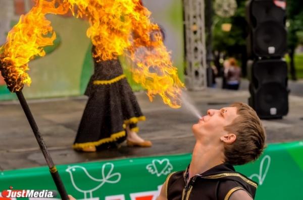 Огненный Екатеринбург создадут  фаерщики в центре города