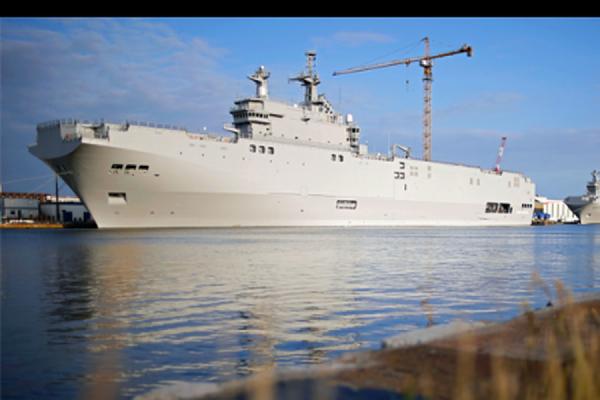 Минфин Франции сообщил, что выплаты России за «Мистрали» не превысят 1 млрд евро