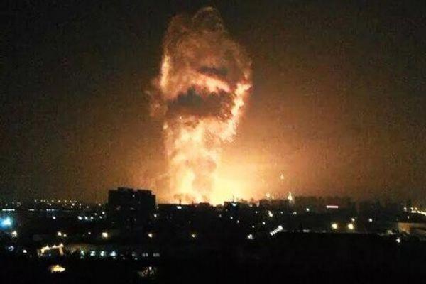В городе Тяньцзин на севере Китая произошел новый взрыв