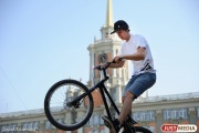 На День города в центре Екатеринбурга построили уникальный экстрим-парк
