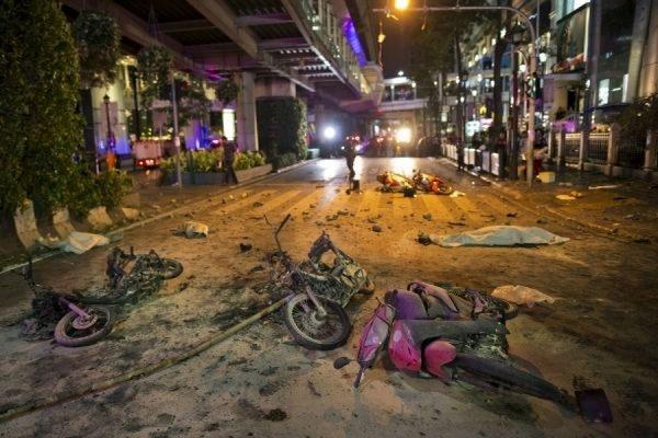 Число жертв теракта в столице Таиланда возросло до 20 человек