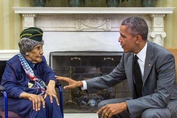 В США умерла старейшая участница Второй Мировой войны Эмма Дидлэйк
