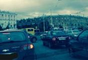 У станции метро «Уралмаш» второй день не работают светофоры