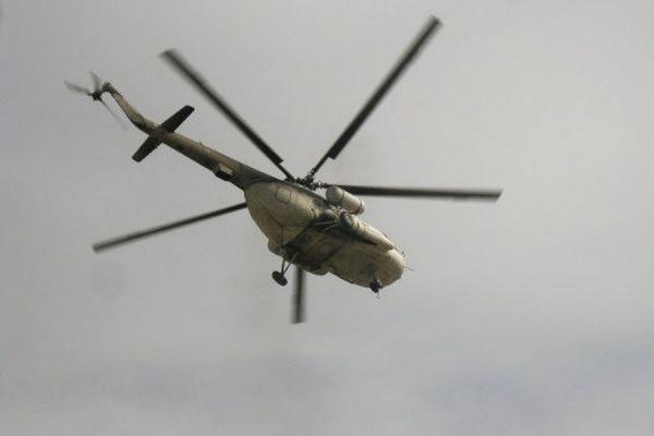 Пока не удается поднять потерпевший крушение в Охотском море МИ-8