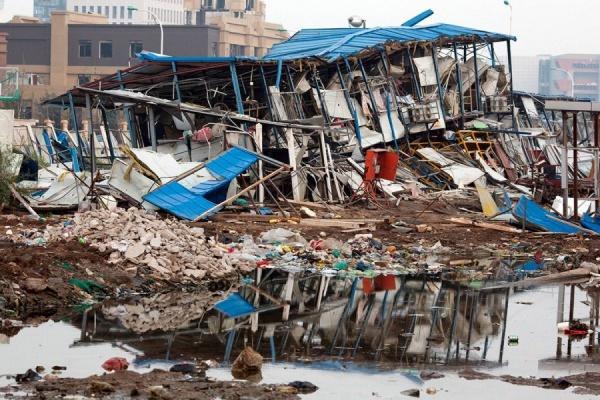 В пробах воздуха на месте взрывов в Тяньцзине обнаружен нервно-паралитический газ