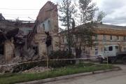 В Ирбите обрушилась стена двухэтажного дома