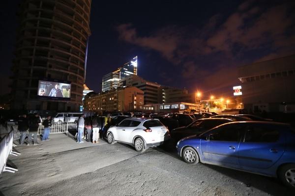 В Екатеринбурге открылся автокинотеатр