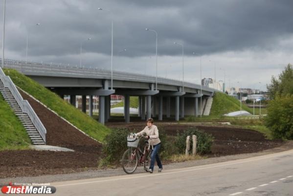В Верхней Пышме открыли дорогу, которая соединит Екатеринбург с севером области