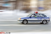 В центре Екатеринбурга мотоциклист влетел в легковушку